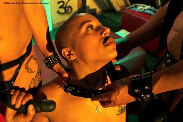 Interior: Nightclub. Papí Coxxx, as Claudia becomes Claude.