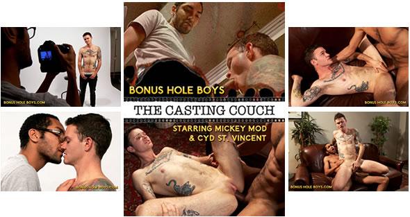 BONUS HOLE BOYS: The Casting Couch